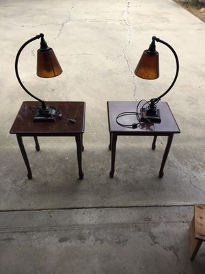Table and light for Sale in Fresno, CA