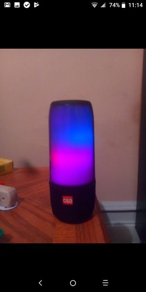 Bluetooth Light Up Speaker for Sale in Philadelphia, PA