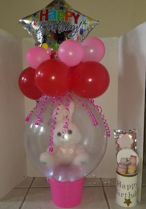Birthday gift, Stuffed balloon for Sale in Hudson, FL