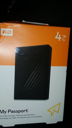My passport portable hard drive wd discovery software for Sale in Federal Way, WA
