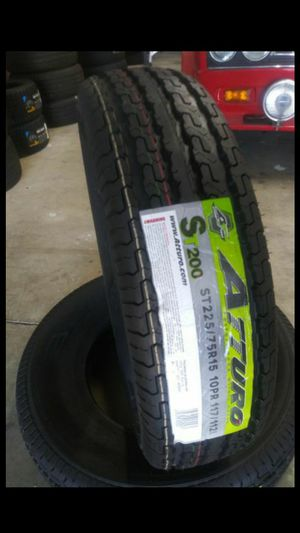 ST225-75-15 Atturo Trailer Tires for Sale in Ontario, CA