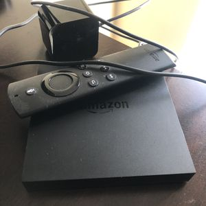 Amazon Streaming Fire TV Box for Sale in Tampa, FL