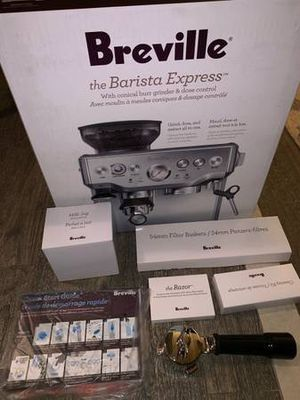 Sell by 12PM- Breville Barista Express for Sale in Long Beach, CA