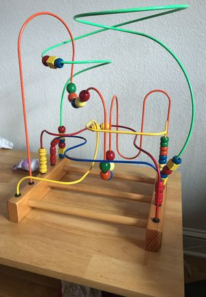 Large bead maze baby and toddler toy for Sale in Portland, OR