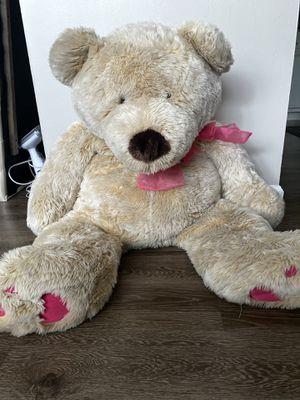 3 feet teddy bear for Sale in Bethel Park, PA