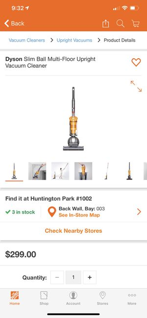 Dyson vacuum 40% off price for Sale in Lynwood, CA