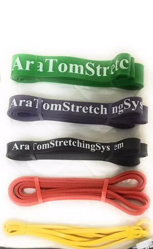 5 bands for one price...exercise bands workout bands fitness bands for Sale in Rockville, MD