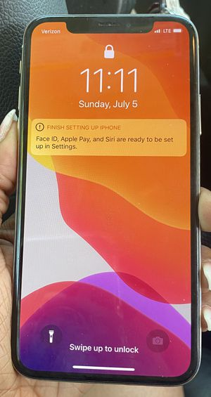 IPHONE X FOR SALE WORKS FINEn BACK CRACKED for Sale in Roseville, MI