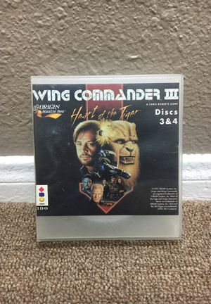Wing Commander III 3DO for Sale in San Bernardino, CA