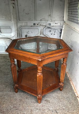 Glass top table for Sale in Roanoke, VA