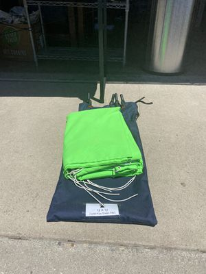 12'x12' Green Screen (W/ Case & Clips) for Sale in Thousand Oaks, CA