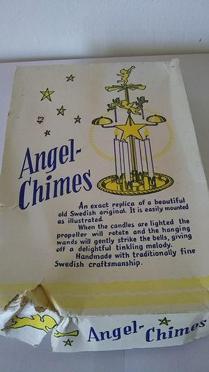 Vintage Angel-Chimes made in Sweden for Sale in Dartmouth, MA