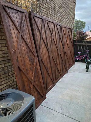 Custom made barn doors for Sale in MERRIONETT PK, IL