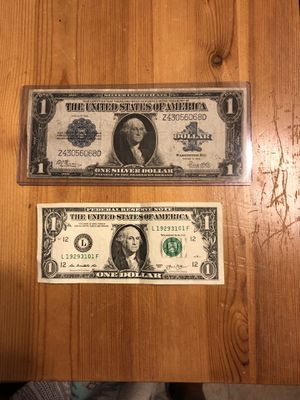 1923 one dollar large bill for Sale in Lafayette, CA