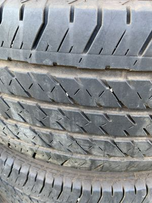 Set of 4 tires 255/70/17 for Sale in Portland, OR