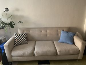 Cream MCM design couch for Sale in Los Angeles, CA