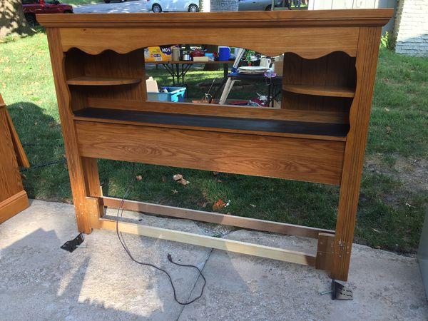 Dresser. Headboard