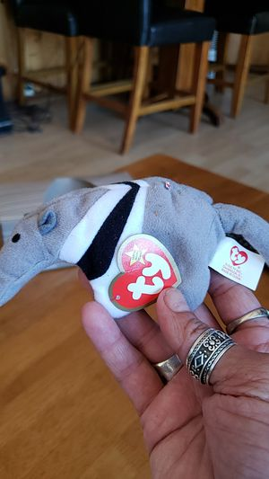 Aunt see the ant eater McDonald's beanie baby for Sale in Temecula, CA