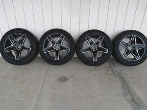 22in like new rims and tires for Sale in Chesapeake, VA