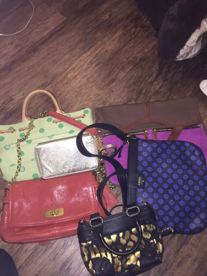 Bundle of bags coach, fossil, Rooney & bourke , juicy Kate spade for Sale in San Diego, CA