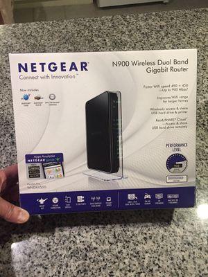 NETGEAR N900Dual Band Gigabit Router for Sale in Denver, CO