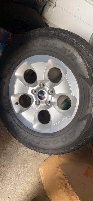 Jeep Wrangler tires & rims for Sale in North Providence, RI