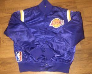 Vintage lakers Starter jacket size medium for Sale in Pasadena, CA