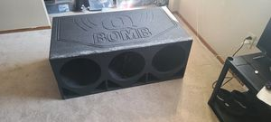 3 12inch subwoofer box. And 3 jbl 12s for Sale in Lynnwood, WA