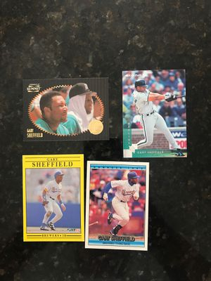 Gary Sheffield Baseball Cards for Sale in Kissimmee, FL