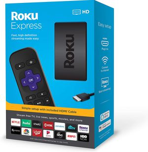 Roku Express HD Streaming media player for Sale in Rockville, MD