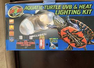 UVB and heat lighting kit for Sale in Houston, TX