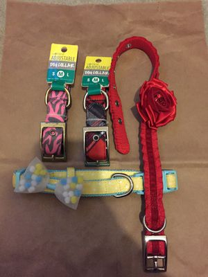 Dog collar lot for Sale in Gervais, OR