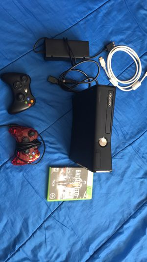 Xbox 360 & Controllers and game for Sale in Centreville, VA