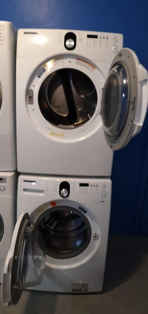 Samsung front load washer and dryer set in excellent condition for Sale in Baltimore, MD