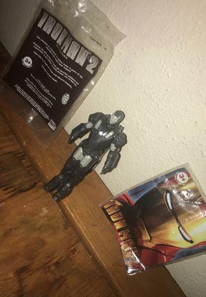 Iron man 2 toy figure war machine marvel superheroes memorabilia collectibles for Sale in San Antonio, TX