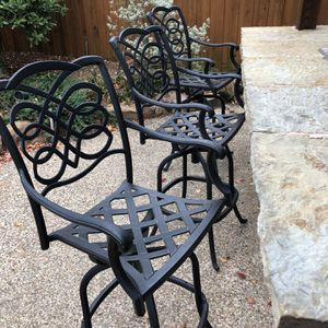 Bar stools - Outdoor - 3 for Sale in Dallas, TX