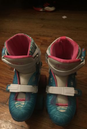 Girl children's roller skates for Sale in Tyler, TX