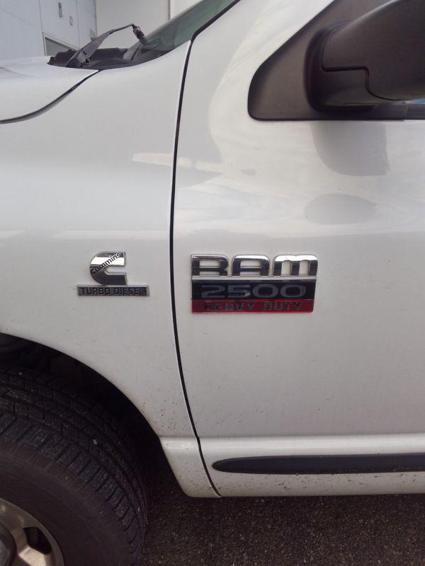 2007 Dodge 2500 SLT 5.9L CUMMINS