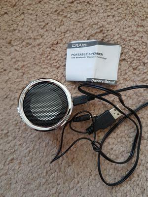 Portable speaker rechargeable wireless bluetooth for Sale in Philadelphia, PA