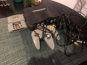 Nintendo 64 with games and hookups! for Sale in San Angelo, TX