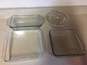 Pyrex clear glass bowls for Sale in Fort Pierce, FL