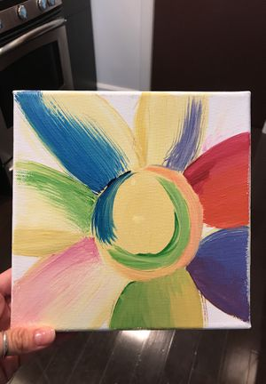 """Colorful Sunflower 8x8"""" for Sale in Columbus, OH"""
