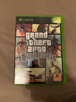 Grand Theft Auto San Andreas XBOX for Sale in Houston, TX
