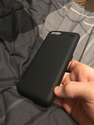 iPhone 6 Plus charging case for Sale in Normal, IL