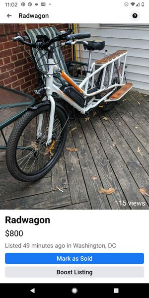 Radwagon electric bicycle. for Sale in Washington, DC