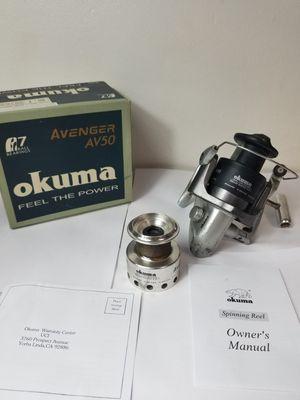 Okuma Avenger AV50 Fishing Reel for Sale in Marysville, WA