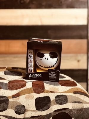 Tim Burton's collectible The nightmare before Christmas Yahtzee. for Sale in Garland, TX