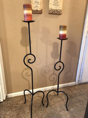 Tall wrought iron sconces for Sale in Lake Elsinore, CA