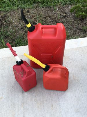 Various Gas Cans for Sale in Warrenton, VA