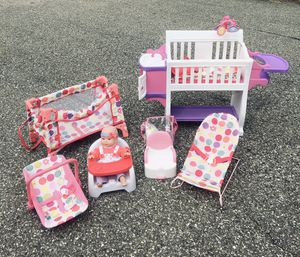 Complete Toy Nursery Station & Accessories for Sale in Severn, MD